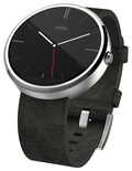 фото Motorola Moto 360 (leather)