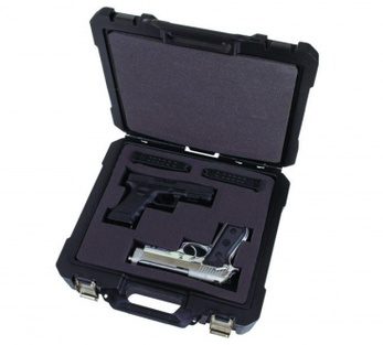 "фото Кейс для оружия  FLAMBEAU Double Pistol Case - 13.5"" 40DWS"
