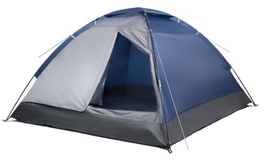 фото Палатка Jungle Camp (Trek Planet) LITE DOME 4 синяя